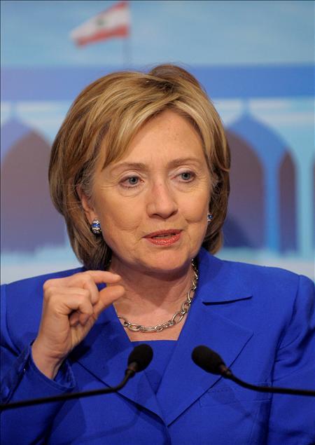 Clinton en Irak por sorpresa