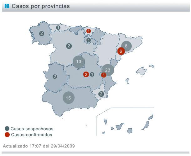 España: primer caso que no viene de Méjico