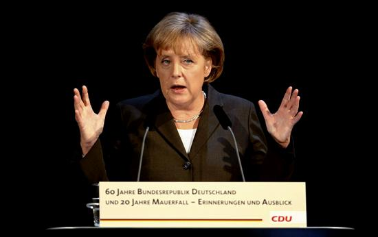 La canciller alemana, Angela Merkel. EFE
