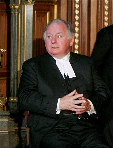 La máxima autoridad de la Casa de los Comunes, Michael Martin, está a punto de convertirse en el primero en ser despedido de su cargo en más de 300 años.(EFE)