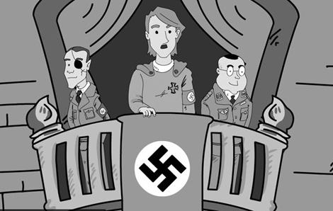 Hitler enamorado