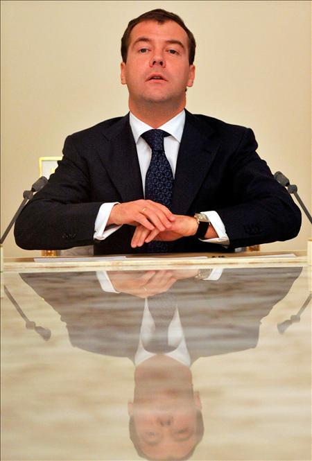 Reforzar el potencial bélico de la Organización del Tratado de Seguridad Colectiva (OTSC) y transformar esta alianza, que incluye a las cinco naciones citadas más Armenia y Bielorrusia, en una entidad similar a la OTAN que es el objetivo marcado por el presidente de Rusia, Dmitri Medvédev. (EFE)