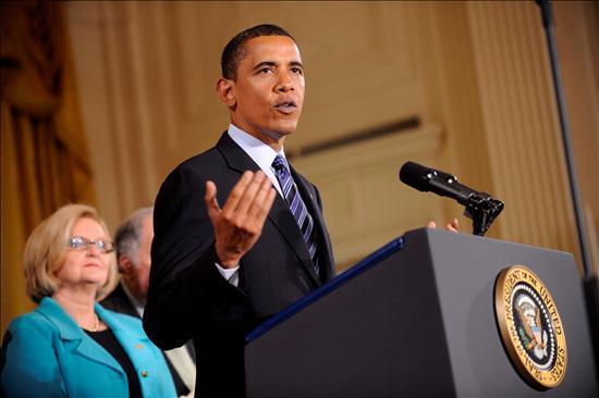 """El presidente norteamericano, Barack Obama, ha declarado que """"EEUU no busca inmiscuirse en los asuntos internos de Irán"""". EFE"""