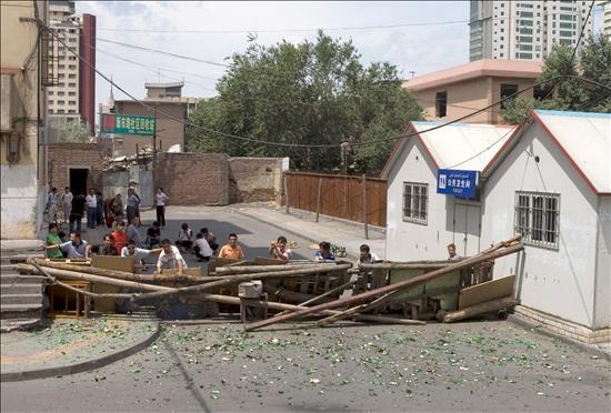 Disturbios en la capital de Xinjiang (Efe)