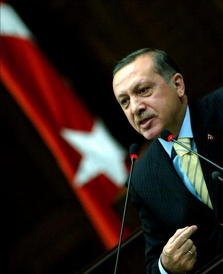 (Efe) Erdogan, primer ministro turco
