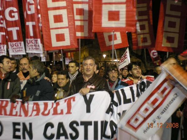 Agustín Dorado Ferrato (Secretario General CCOO de la sección sindical de Valladolid Renault)