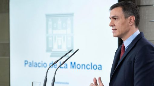 Pedro Sánchez anuncia la medidas del estado de alarma