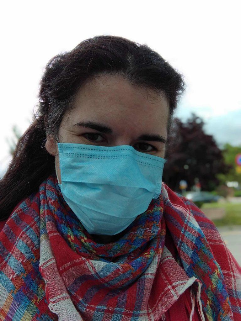 Verónica Ruiz es técnico de cuidados auxiliares de enfermería y pertenece a la Plataforma Independiente de técnicos sanitarios c1, organización que reivindica el reconocimiento de su profesión dentro de la categoría C1.