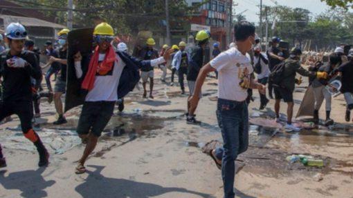 Represión Myanmar